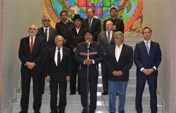 Expresidentes ratifican unidad plena en torno a demanda marítima