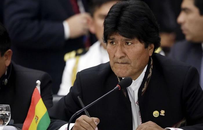 Evo Morales asistirá a demanda marítima. Foto: AFP