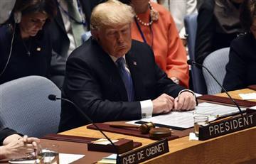 ONU: Trump incluye en su campaña contra Irán al Consejo de Seguridad