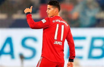La prensa de Inglaterra se burla de James Rodríguez