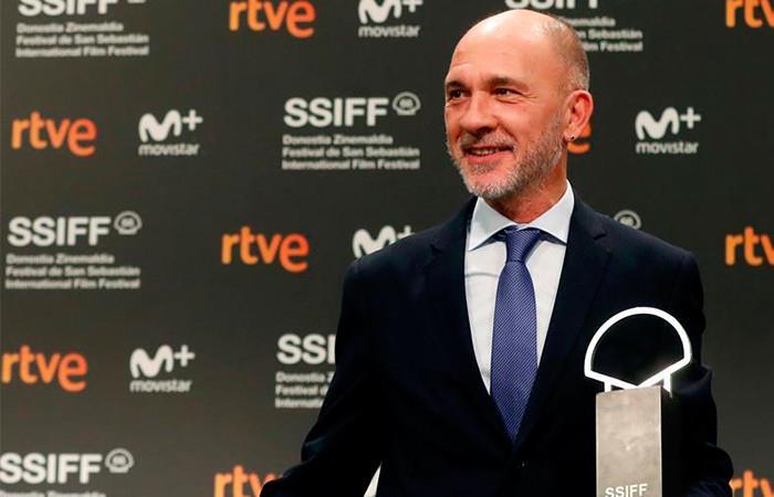 El actor argentino Darío Grandinetti gana la Concha de Plata por