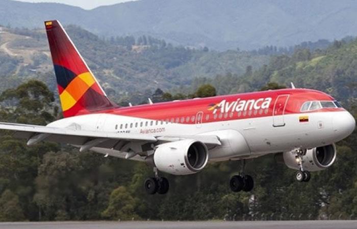 Avianca operará ruta entre Bogotá y Santa Cruz. Foto: AFP