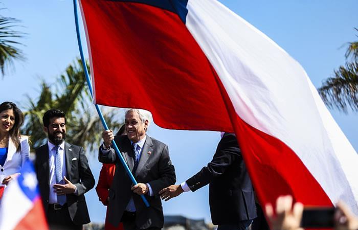 Sebastián Piñera sobre demanda marítima. Foto: EFE