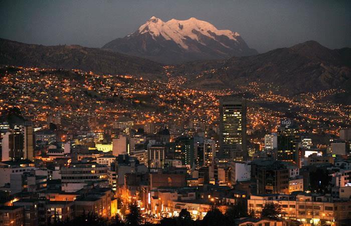 Altura de La Paz Bolivia. Foto: Shutterstock