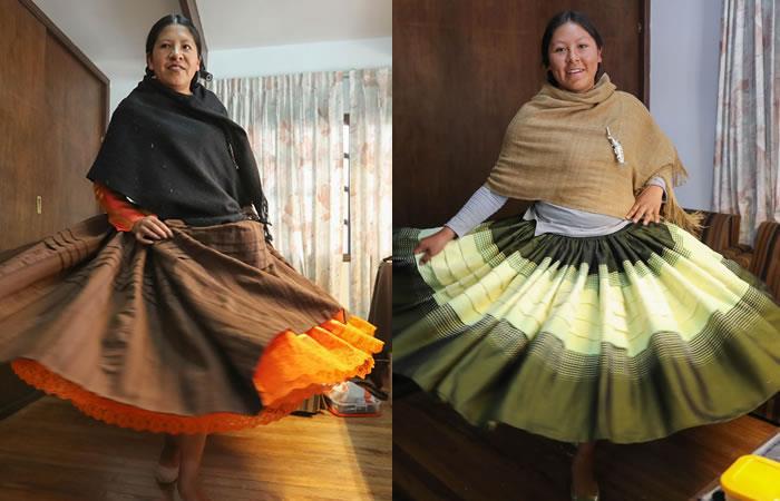Las 'cholitas' bolivianas desfilarán dentro de un