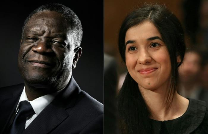 Nobel de la Paz: Dos héroes de la lucha contra la violencia sexual