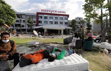 Indonesia: Hallan vivos 31 menores atrapados en dos escuelas tras sismo