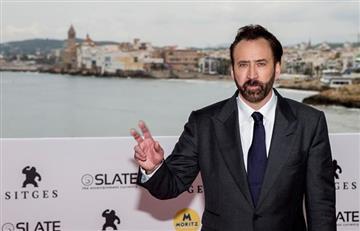 Nicolas Cage niega las fuertes acusaciones que le hacen en Sitges