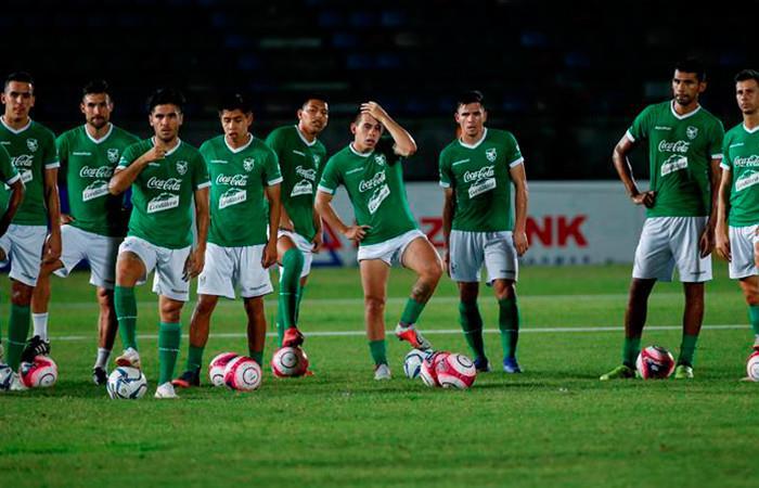 Selección Bolivia vence a Birmania. Foto:EFE