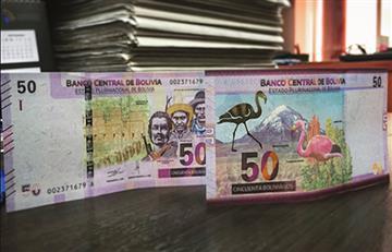 ¿Cómo es el nuevo billete de 50 bolivianos?