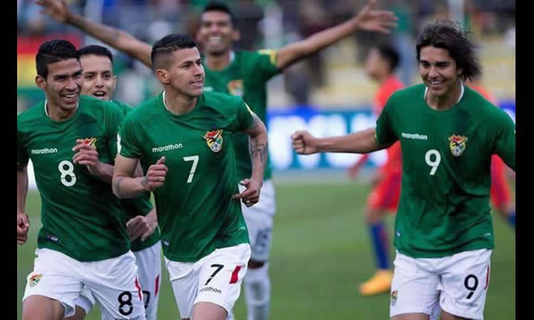 Selección Bolivia en el ranking FIFA. Foto: AFP