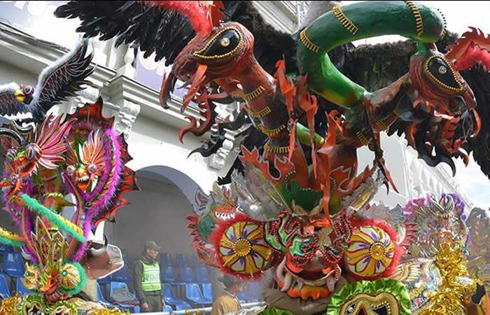 Carnaval de Oruro Bolivia. Foto: AFP