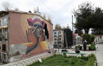¿De qué se trata la 'Galería al aire libre' en el Cementerio de La Paz?
