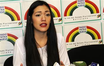 ¿Por qué la senadora Adriana Salvatierra cree que la oposición está dividida?