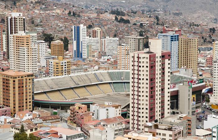 Estadio Hernando Siles Bolivia. Foto: Shutterstock