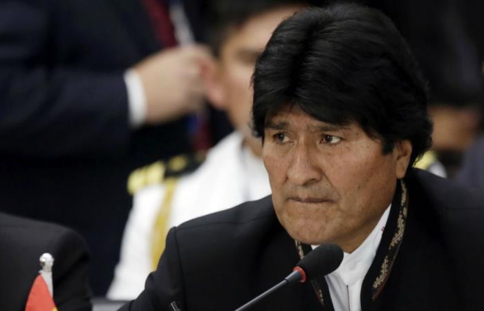 El presidente celebraba el aniversario de Potosí. Fuente. AFP