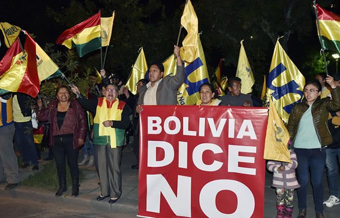 Oposición boliviana dividida a un año de las elecciones