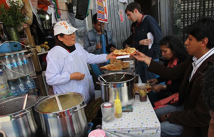 ¿Qué comer en las calles de Bolivia? :. Foto: EFE