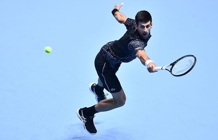 Djokovic continúa en la cima del ATP. Foto: AFP