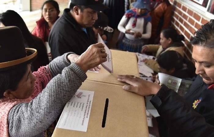 Elecciones primarias en Bolivia. Foto: AFP