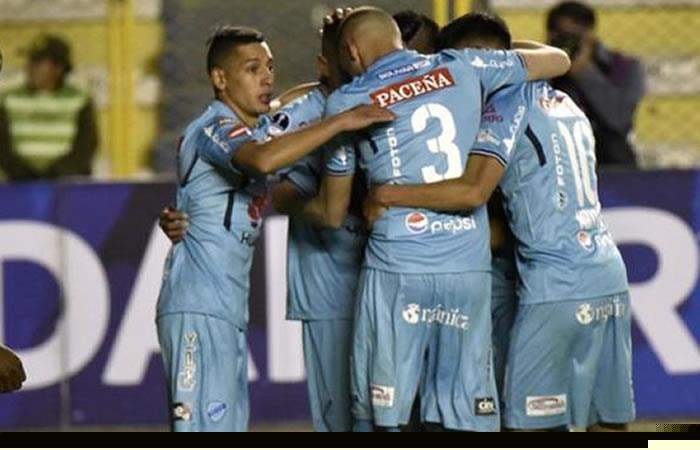Bolívar podría ser el líder de la liga. Foto: AFP