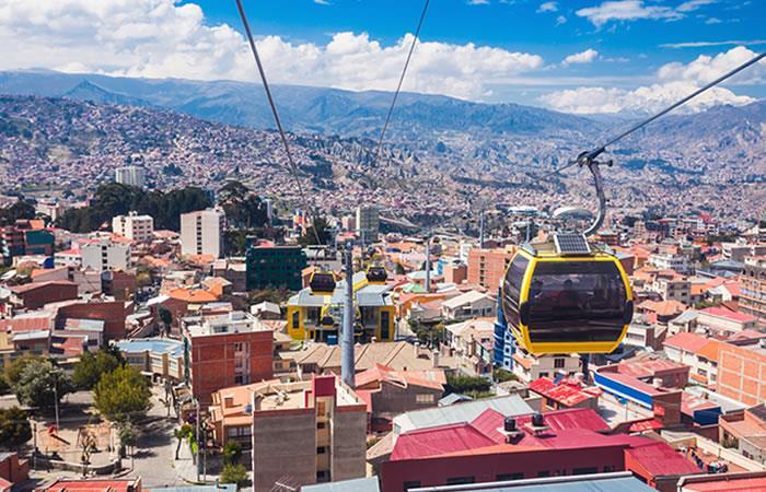 La Paz Bolivia. Foto: Shutterstock