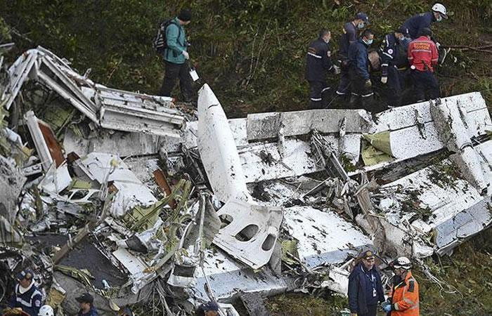 Tragedia Chapeconese. Foto: AFP