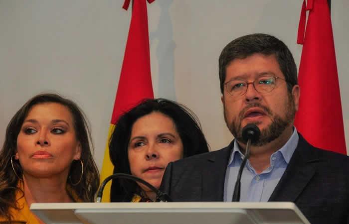 Samuel Doria Medina declinó su candidatura. Foto: EFE
