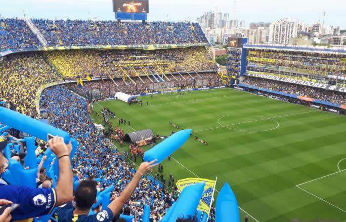 Estadio La Bombonera en la final de la Copa Libertadores 2018. Foto: Interlatin
