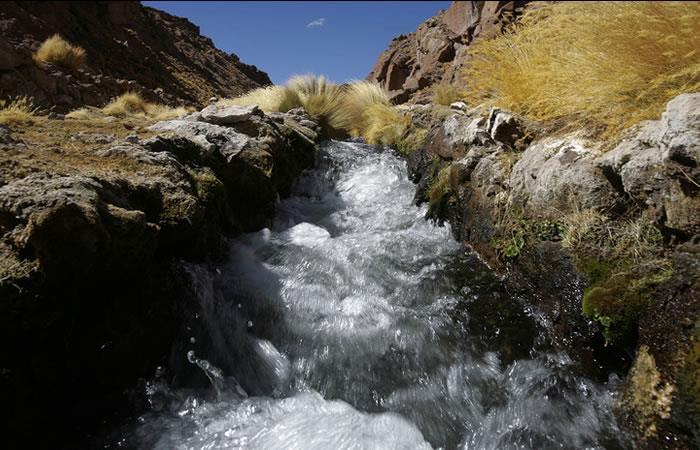 Aguas de Silala. Foto: EFE