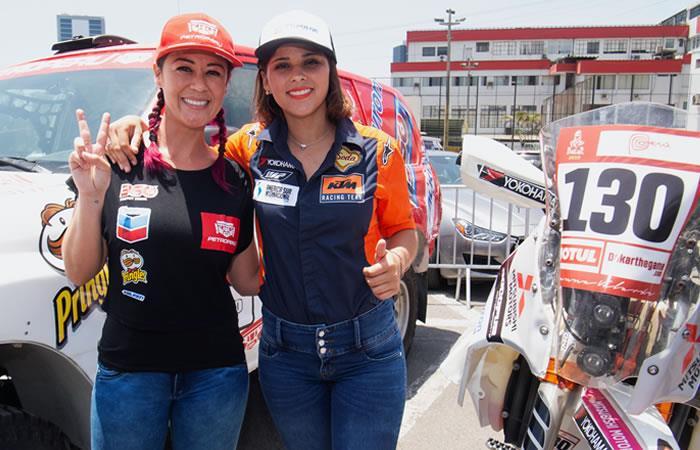 Las mujeres estarán presentes en el Rally Dakar. Foto: AFP