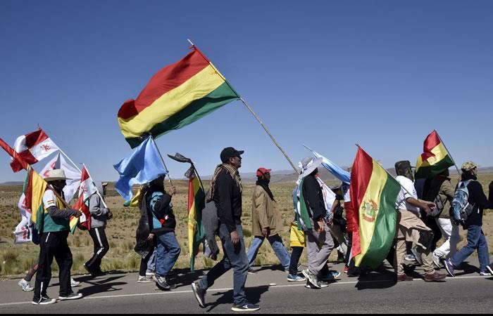 Las fuertes huelgas en contra de Evo Morales