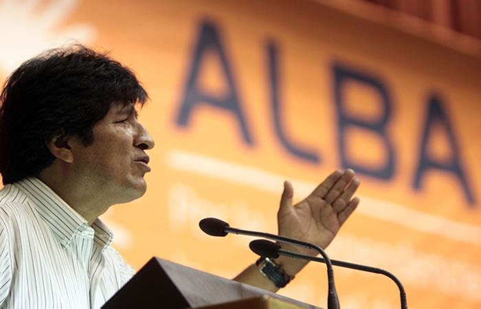 Morales pide a países del ALBA continuar con la lucha por la paz con justicia social