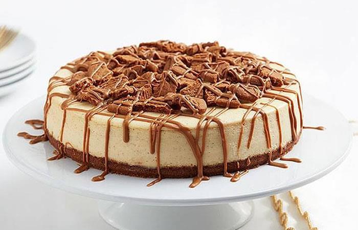 Cheesecake para la complementar una comida. Foto: Facebook/El Gran Sazón.