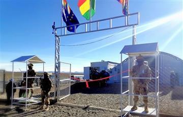 Morales inaugura el primer puesto militar adelantado anticontrabando en Charaña