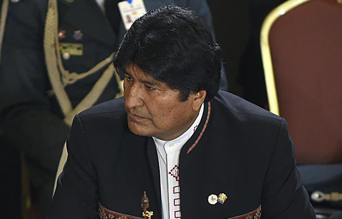 Evo Morales y un nuevo capítulo de su enemistad con los EEUU. Foto: AFP
