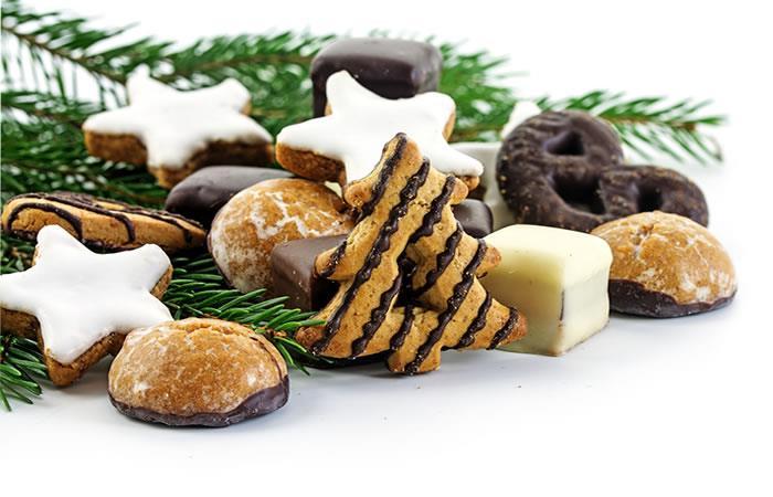 Deliciosas galletas navideñas. Foto: Shutterstock