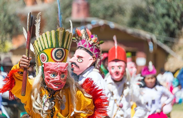Las celebraciones de Navidad de los indígenas Beni