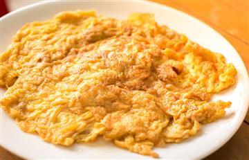 ¿Cómo preparar Tortilla de huevo de peta?
