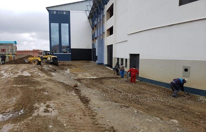 El Alto prepara su nuevo estadio de cara al Torneo Apertura 2019