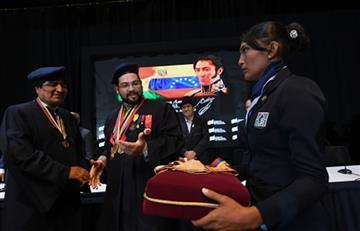 Se confiere el título 'Doctor Honoris Causa' a Evo Morales