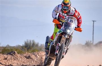 """Daniel Nosiglia entra al """"top ten"""" del Dakar 2019"""