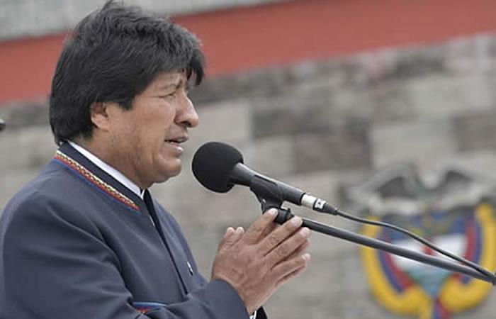 Presidente de Bolivia, Evo Morales expresa sus condolencias. Foto: ABI.