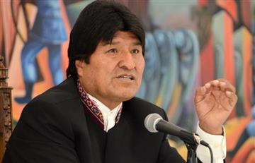 Evo Morales expresa su solidaridad a México