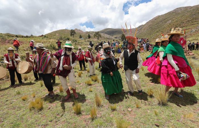 Hoy también se celebra la diversidad boliviana. Foto: EFE