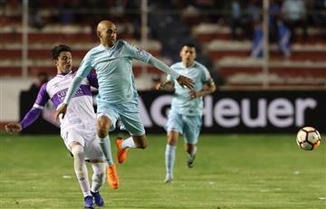 Duro golpe a Bolívar en la Copa Libertadores