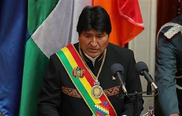 Evo Morales hace promesas para el periodo 19-25 en su mensaje presidencial
