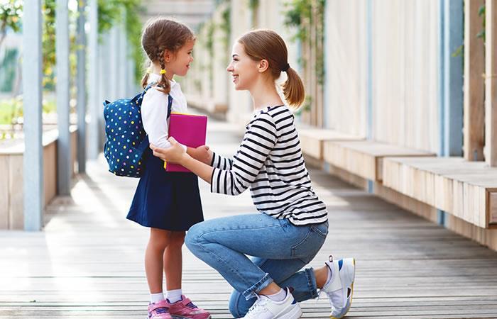Consejos para el primer año escolar de tus hijos. Foto: Shutterstock