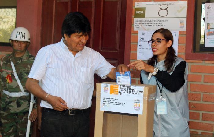 Morales está en busca de su tercera reelección. Foto: EFE