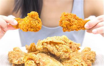 El pollo frito puede acortar la vida de mujeres mayores